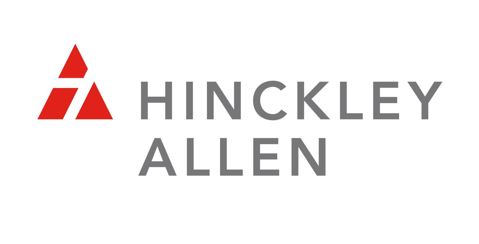 Hinckley Allen red and grey logo
